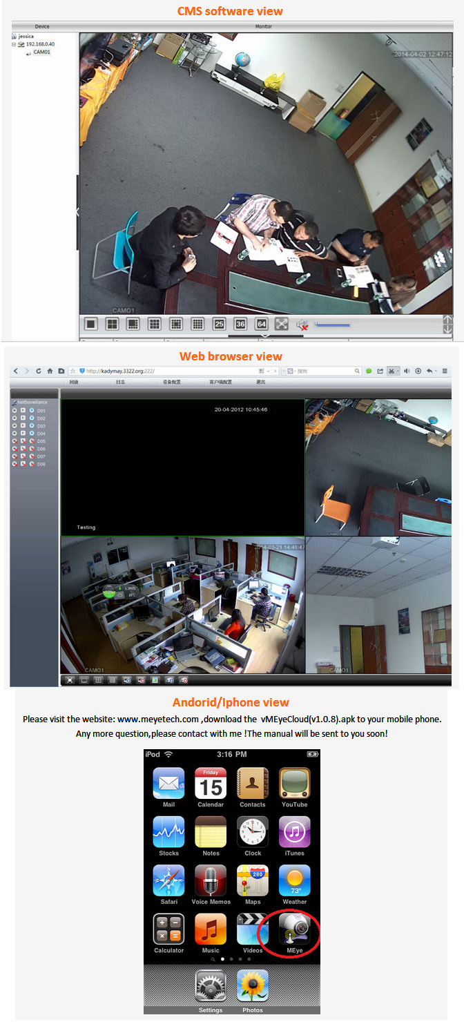 best sales!!! 4Chs outdoor 2.0mp IP Camera POE NVR Kits(1080p), POE built- in nvr, easy to use!!