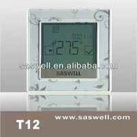 2013 New style colorful floor heating thermsotat with touch button