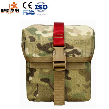 manufacture CE FDA ISO approved promotional shoulder bag camouflage tactical military medical first aid kit