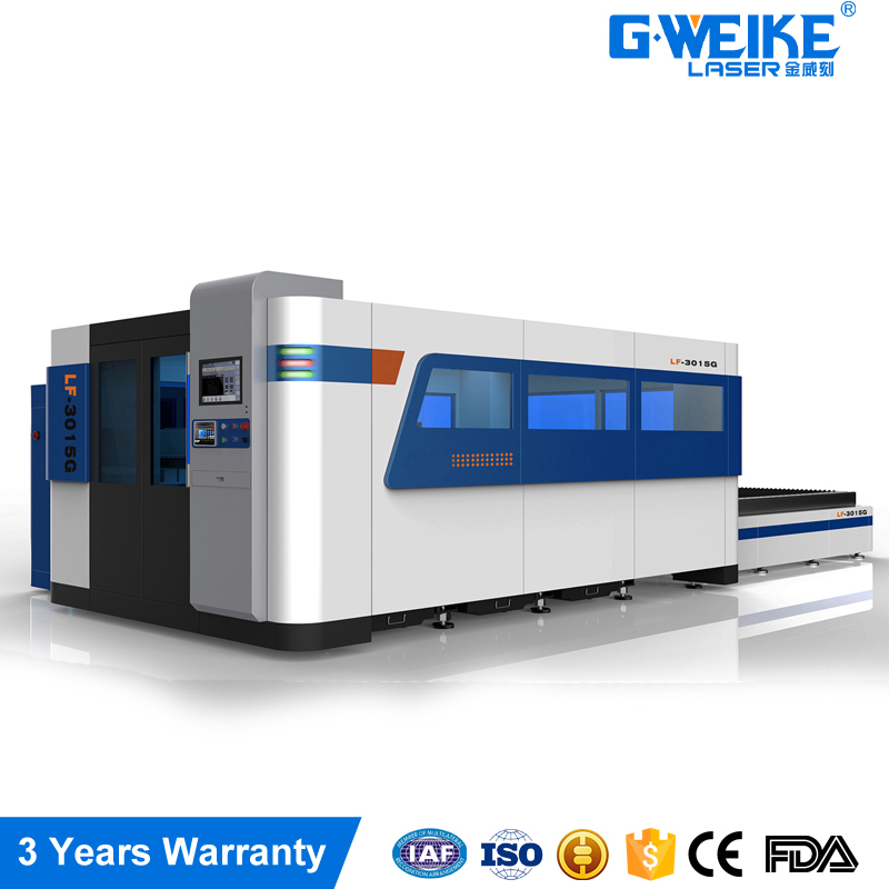 Germany Precitec head 1000w 6mm stainless steel fiber laser metal cutting machine price