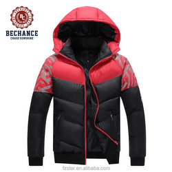 Fashion Winter Men Windproof Thick Hooded Jacket Motorcycle