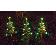 SCL0354 stainless steel outdoor christmas lights color changing led tree light decoration