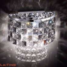 Small crystal chandelier wall lamp modern home decorative wall lamps indoor 32413