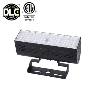 DLC  ETL cETL Listed 50W 100W 150W 200W 300W Linear Bar Type IP67 Best Outdoor LED Landscape Flood Light For Garden
