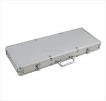 long protective Aluminum Flight Case for music instruments