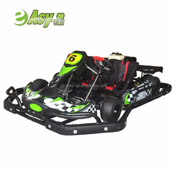 2018 new double seat racing go kart with rear shaft cover,solf seat cover and 3 point safe belt hot on sale
