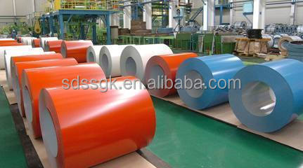 with low price PPGI Color Coated Steel Coils From Shandong boxing zinc 30