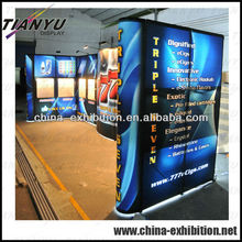 2017 Portable pop up display with window shelves