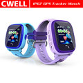 TWATCH DF25G 1.22'' Screen IP67 Waterproof Dual Positioning GPS Tracker Watch
