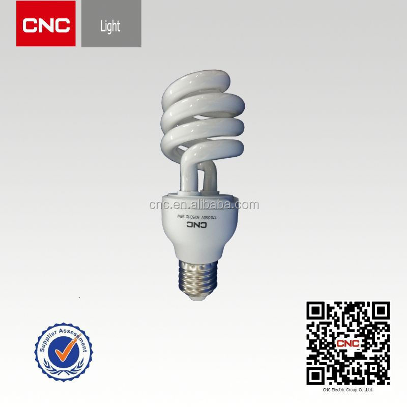 Half sprial cfl raw material