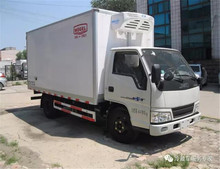 China top brand JMC 4.2m refrigerated box truck 3 ton refrigerated truck