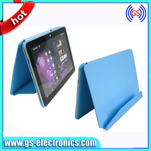 for samsung galaxy tab 2 10.1 leather case P5100 smart cover with stand