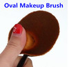 2016 New 10Pcs Oval Toothbrush Shaped Foundation Facial Makeup Brushes Kit