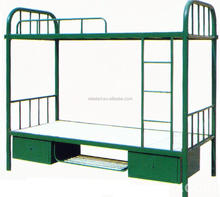 Latest design modern school dormitory used metal bunk bed parts