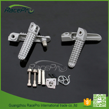 Front & Rear Motorcycle Foot Pegs Kit for Yamaha R1 (1998-2012) R6 (1998-2012) R6S (2003-2008)