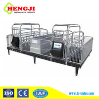 Hot Galvanizing pig farrowing stall