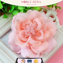 Factory Wholesale Solid Color Satin Artificial Rose Flower