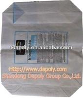 bottom block valve bag