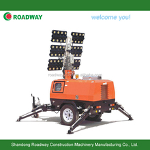 RWZM62C Hydraulic trailer light tower/ LED light tower