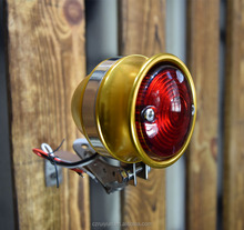 Motorcycle 12V brake tail Stop Light Custom Vintage Led Tail light For Harley Davison bobber