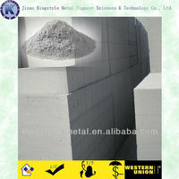 Cellular Concrete Aluminum Powder for AAC