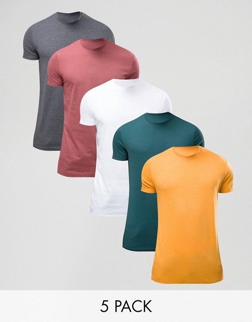 KY wholesale grey 95% cotton 5% elastane Short sleeves Plain tshirt mens design T-Shirt With Crew Neck