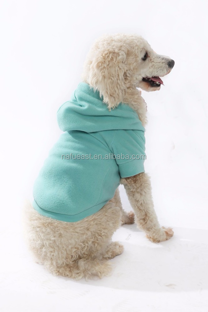 dog's hoodie no minimum can add text wording. pet clothing. real factory