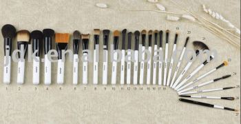 Professional Cosmetic Brush Set White Make up Brushes JDK-PL652