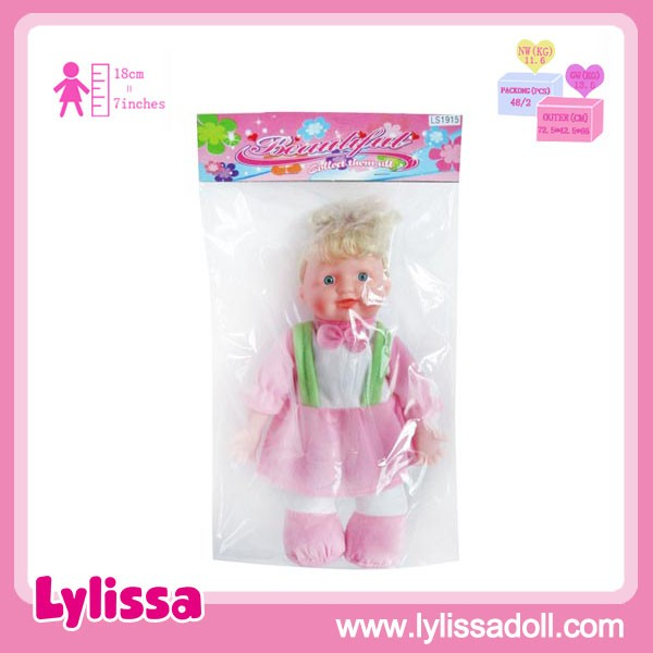 New Product 11 Inch Baby Doll Suit 100% Cotton and Good Quality for Wholesale