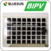 High Quality 120W 48% Transmittance Customizable BIPV Glass Transparent Solar Panel