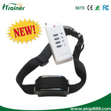 Remote dog control training collar
