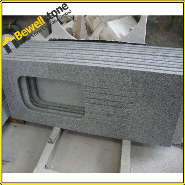 grauem granit arbeitsplatten f r k che tischplatte. Black Bedroom Furniture Sets. Home Design Ideas