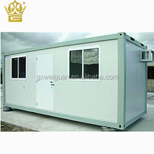20ft 40ft linkable container module house for office in flat pack