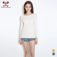 Women Boat Neck And V Neck Reversible Pullover Sweater,New Design Sweater For Girl Wholesale