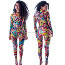 2016 High quality Anti-uv women sex diving neoprene wetsuit