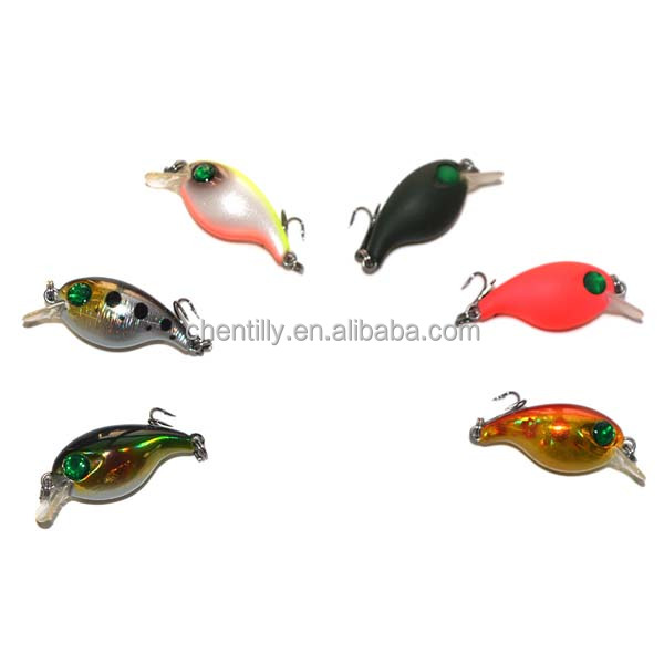 Chentilly03 CHMN24 Mini Crankbait 2g 28mm Japan Style Lure Fishing Gear