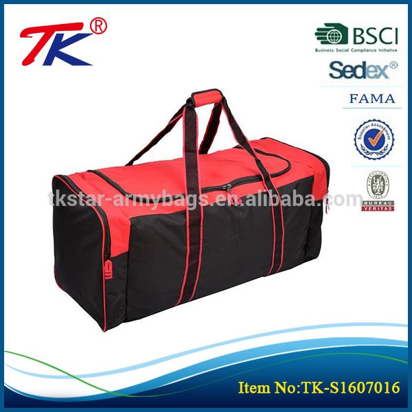 Outdoor fitness tote travel sports nylon gym bag