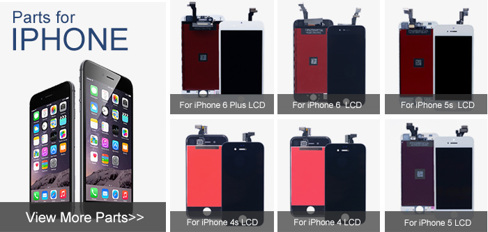 Mobile Phone Spare Parts For Iphone 6 LCD display+Touch Screen Digitizer+Home Button+Front Camera+Frame full Assembly