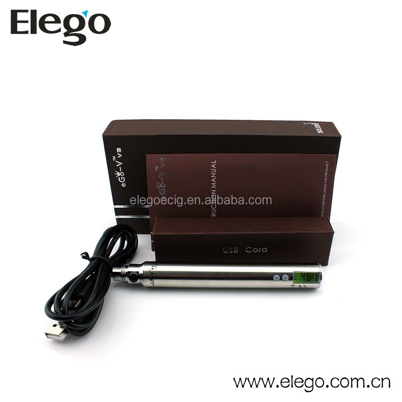 Variable voltage LCD screen battery SLB ego v v3 mega battery