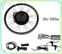 hot sale !36v 500w front or rear electric bike engine kit