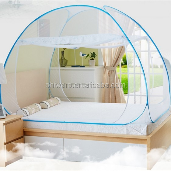 100% polyester foldable mosquito net hot in India market textile manufacturer