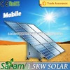 New solar product 1500w flexible solar panel