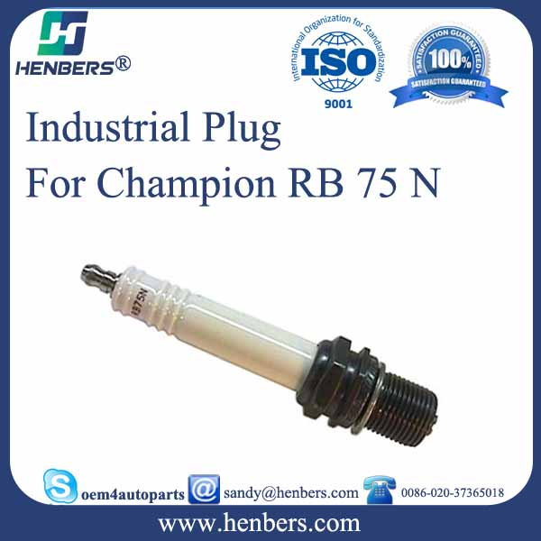 Industrial Spark Plugs for Champiom RB75N spark plug for Guascor Waukesha Wartsila gas engines