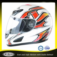 Good quality cheap roman full face motorcycle helmet visor ECE certificated