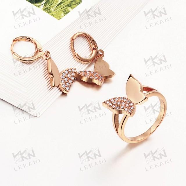 2018 fashionable women's artificial gold fashion jewellery