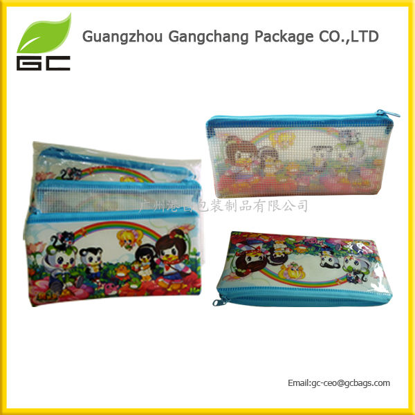 2014 new design promotional pvc pencil bags