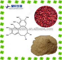Liver Protection/Schisandra chinensis Berry extract powder,Deoxyschizandrin 2% 3% 10%