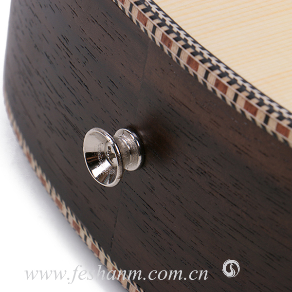 Finlay FU-24YM2 24 Inch China Wholesale Brand Special Fishbone Line Biding Ukulele,hawaiian guitar