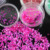 factory direct sell multi color Nail Art Decoration sea Crushed Shell Powder