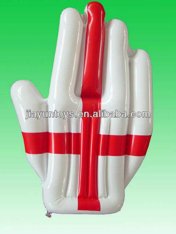 pvc inflatable hand ( pvc promotional hand )